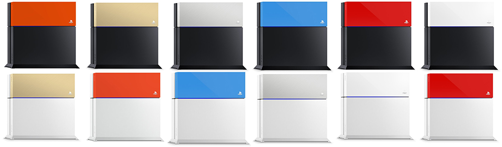 ps4 faceplate kleuren